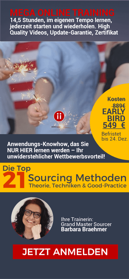 21 Active Sourcing Methoden