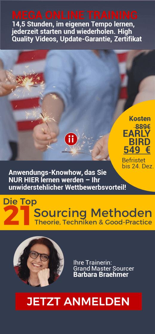 21 Active Sourcing Methoden