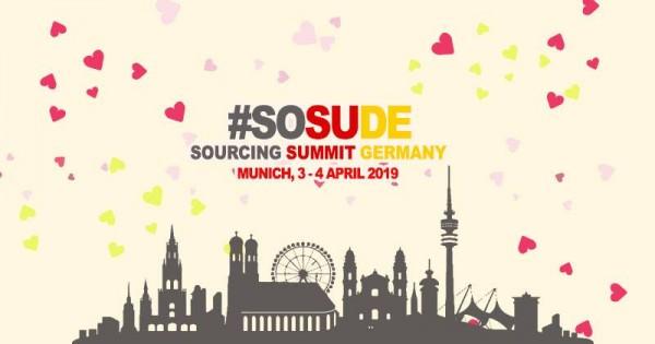 Sind Sie dabei - beim Sourcing Summit Germany 3.-4. April 2019 in München?