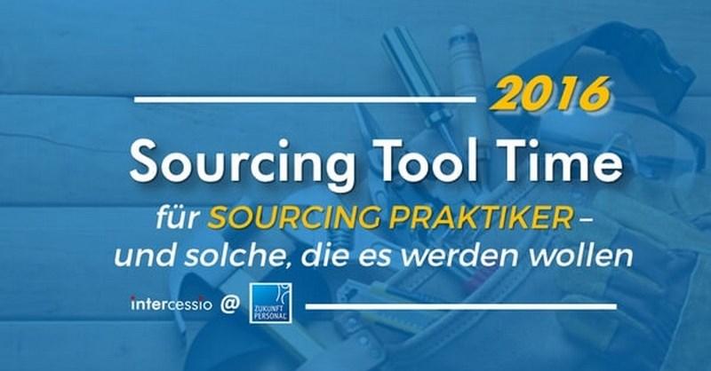 Active Sourcing Tool Time auf der Zukunft Personal #zp16