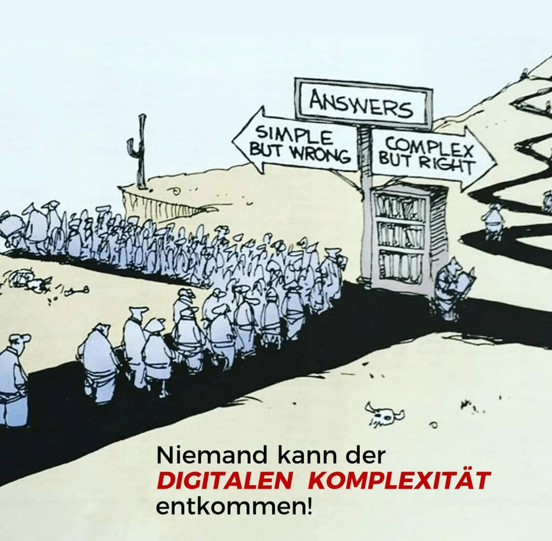 Chef und Sourcing Kenntnisse - Niemand kann der Digitalen Komplexität entkommen