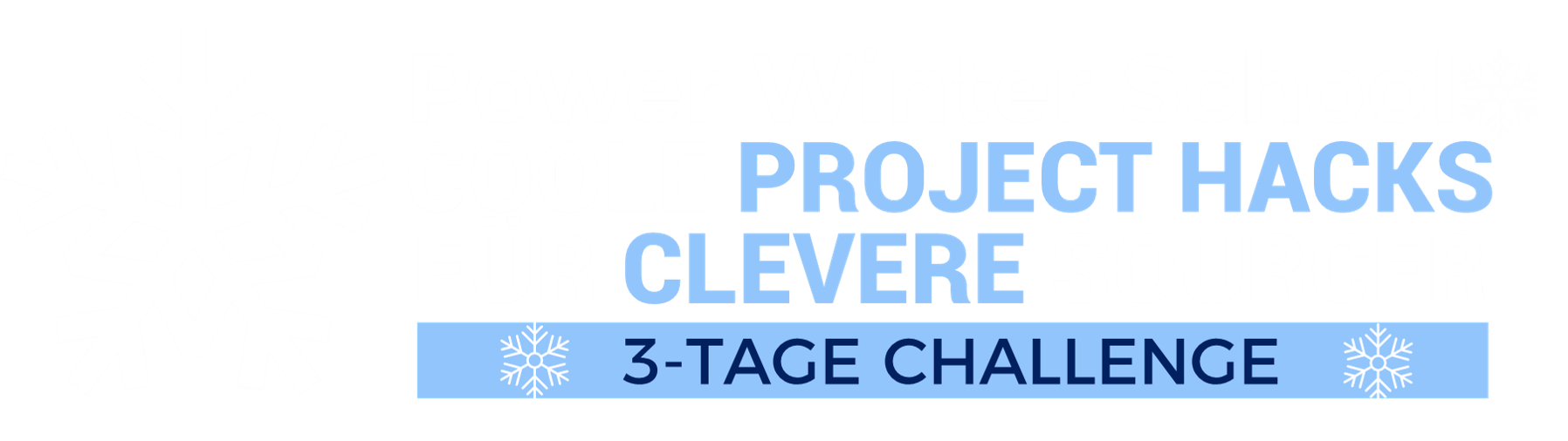 Coole Project Hacks für Clevere Sourcer - Power Winter School 2021 o B