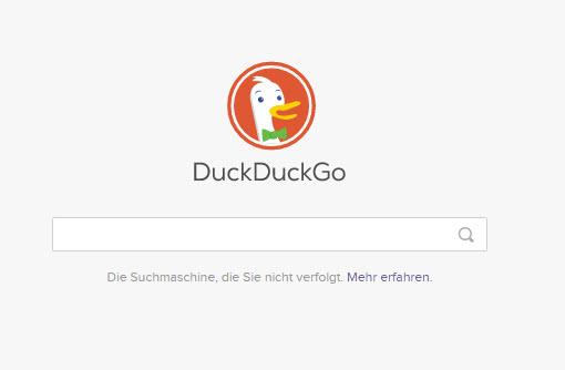 Der X-Ray Hack mit dem Befehl-Bang-in-der-Suchmaschine DuckDuckGo - Maske