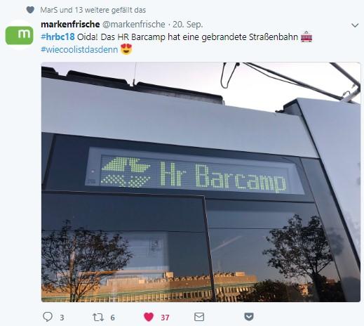 HR Netzwerken 4.0 – die eigene HR Barcamp Wiener Straßenbahn – HR Barcamp Wien 2018 -2