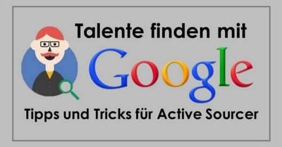 Infographic - Talent finden mit Google für Active Sourcer