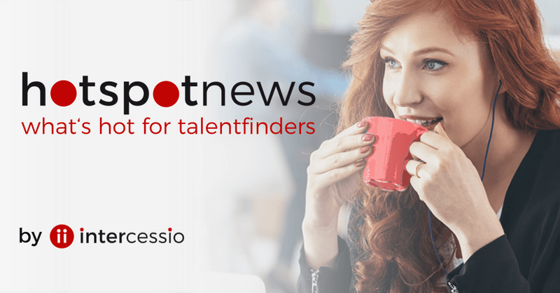 Intercessio Hotspot News - what is hot for Talentfinder - 800 -418