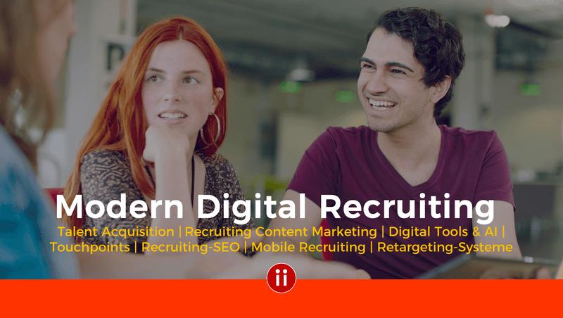 Training Modern Digital Recruiting by Intercessio