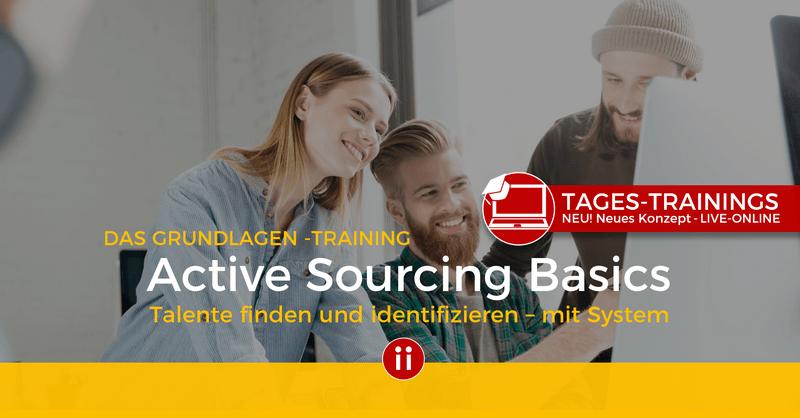 Praxis-Workshop Sourcing Basics - POSTING - ONLINE-TRAINING
