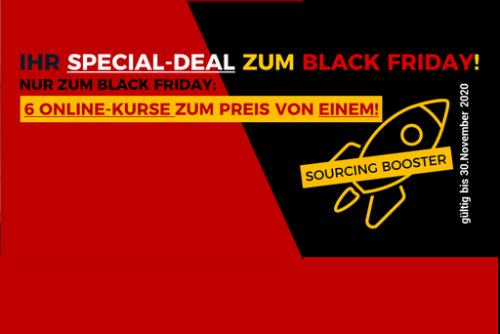 Sourcing-Booster Black Friday - PRODUKTBILD