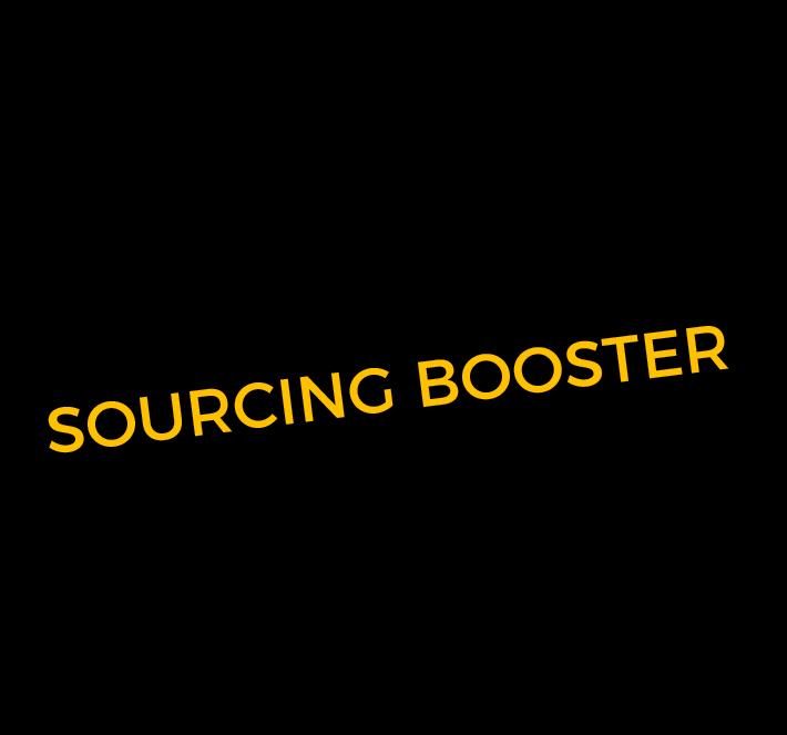 Sourcing Booster - black