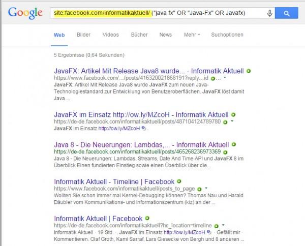 Sourcing Hacks Facebook - Intercessio Blog - Beispiel 2