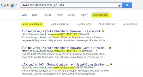 Sourcing Hacks Facebook - Intercessio Blog - Beispiel 3