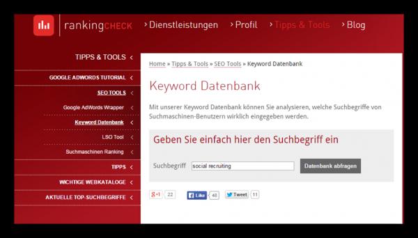 Sourcing Keyword Tools - Mastering Semantische Suche -2