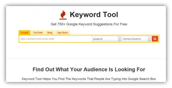 Sourcing Keyword Tools - Mastering Semantische Suche -3
