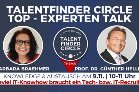 TOP-Experten Talk mit Günther Hellberg - 9-11-2021 - POSTING