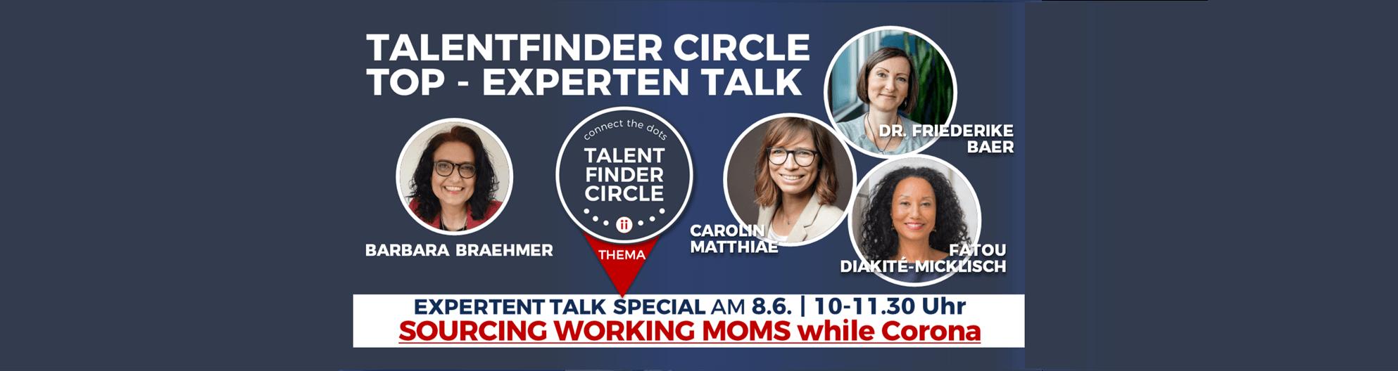 TOP-Experten Talk mit Working Mums- TFC HEADER -20210608