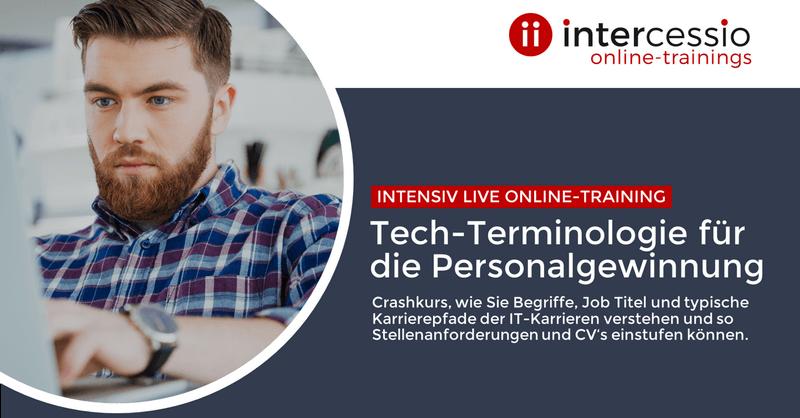 Live Online-Training -Tech-Terminologie für die Personalgewinnung
