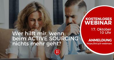 Wer hilft mir, wenn beim Active Sourcing nichts mehr geht?