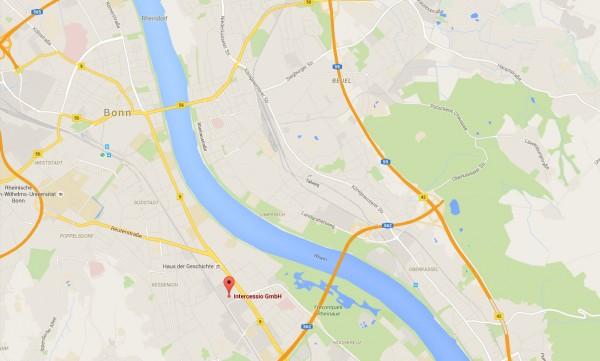 Wegskizze zu Intercessio im Artquadrat-Emil-Nolde-Str-7-Bonn