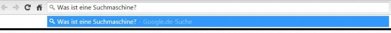 Wie funktioniert Suchen im Browser von Google - Google Chrome